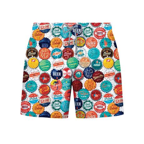 Beercaps Swim Short // Multicolor (S)