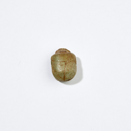 Large Egyptian Scarab // Ex Boston Museum Of Fine Arts, Deaccession