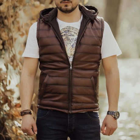 Max Vest // Brown (S)