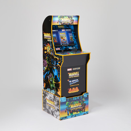 Marvel with License Riser Arcade System // 80th Anniversary