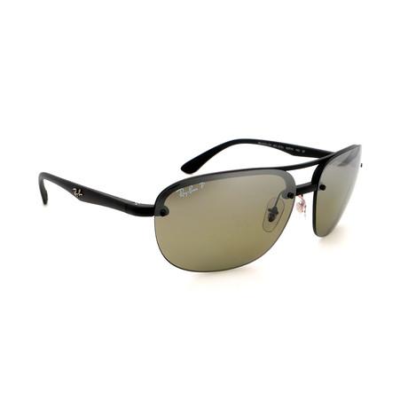 Unisex RB4275CH-601S5J Polarized Sunglasses // Matte Black + Gray