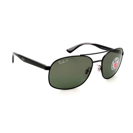 Men's  RB3593-29A Polarized Sunglasses // Black + Gray