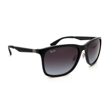 Unisex RB4313-6018G Flex Sunglasses // Black + Gray Gradient