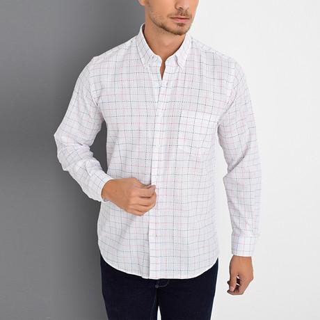 Mario Button-Up Shirt // White (Small)