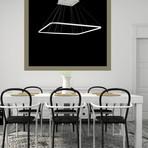 Simplicity LED Chandelier // 1 Square