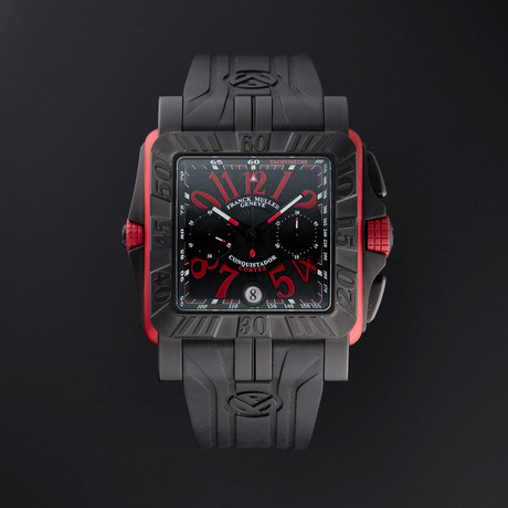 Franck Muller Conquistador Cortez Chronograph Automatic // 10800 CC DT GPG // Store Display