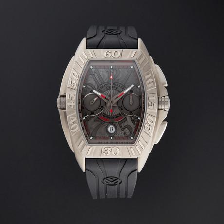Franck Muller Conquistador Grand Prix Chronograph Automatic // 8900 CC DT GPG // Unworn