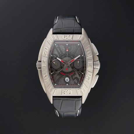 Franck Muller Conquistador Grand Prix Chronograph Automatic // 8900 CC DT GPG // Store Display