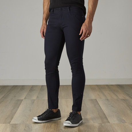Men's Jean Cut Slim Fit Pants // Navy (30WX30L)