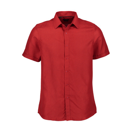 Parma Short Sleeve Shirt // Red (S)