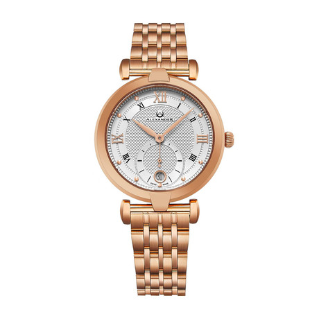 Alexander Watch Ladies Olympias Quartz // A202B-04