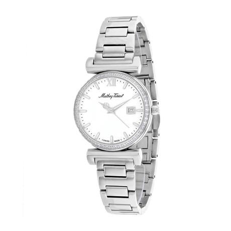 Mathey Tissot Ladies Diamond Elegance Quartz // D410AQI
