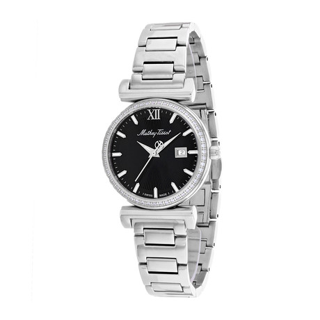 Mathey Tissot Ladies Diamond Elegance Quartz // D410AQN