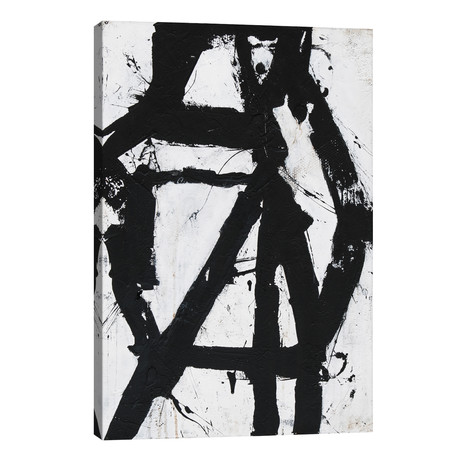 """Ace Of Spades I // Erin Ashley (18""""W x 26""""H x 1.5""""D)"""
