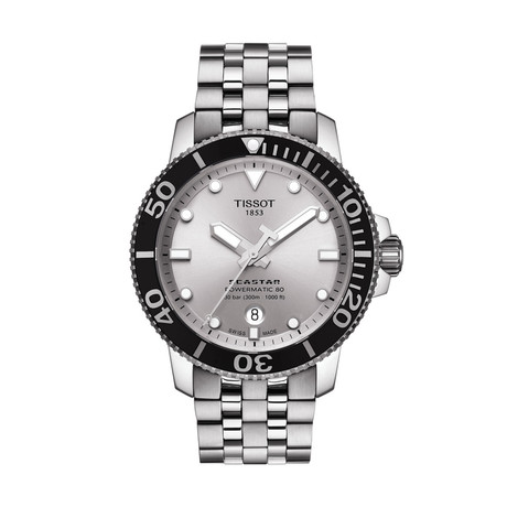 Tissot Seastar 1000 Powermatic 80 Automatic // T1204071103100