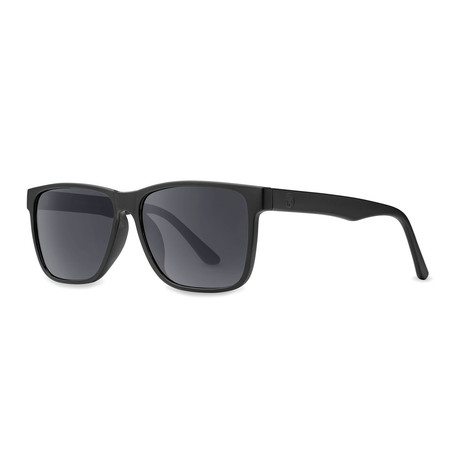 Filtrate Eyewear // Hotel Sunglasses (Matte Black + Gray)