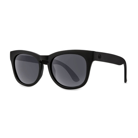 Filtrate Eyewear // Casbah Polarized Sunglasses (Matte Black + Gray)