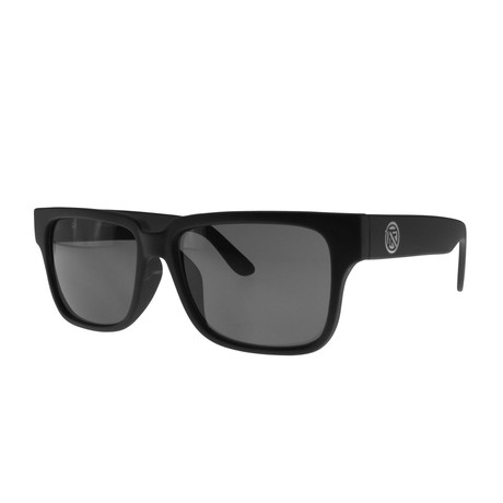 Filtrate Eyewear // Sunday Sunglasses (Black Matte + Gray)