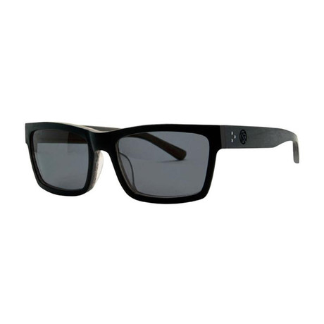 Filtrate Eyewear // Wasabi Polarized Sunglasses (Blackout Smoke)