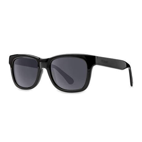 Filtrate Eyewear // Oxford Polarized Sunglasses // Gloss Black + Gray
