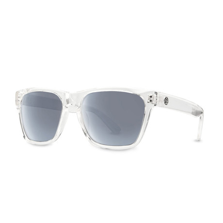 Filtrate Eyewear // Strummer Polarized Sunglasses (Clear Gloss Gray)