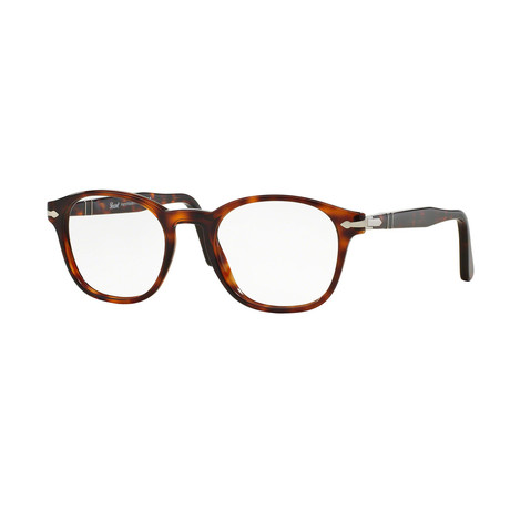 Men's Round Optical Frames // Havana (51-19-145)