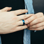 Gembu Ring // Blue (Size 6)