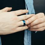 Gembu Ring // Blue (Size 6)