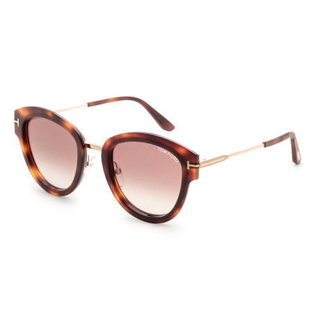 Women's Mia Sunglasses // Dark Havana + Brown Mirror