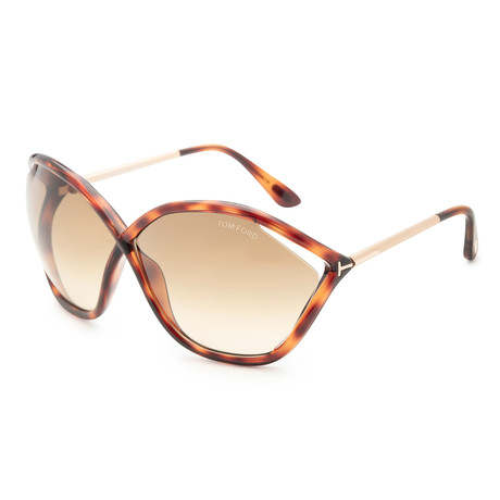 Women's Bella Sunglasses // Blonde Havana + Brown Gradient