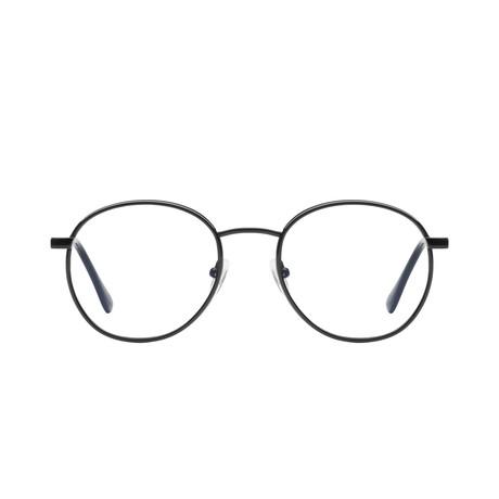 Unisex Omen Blue-Light Blocking Glasses // Black
