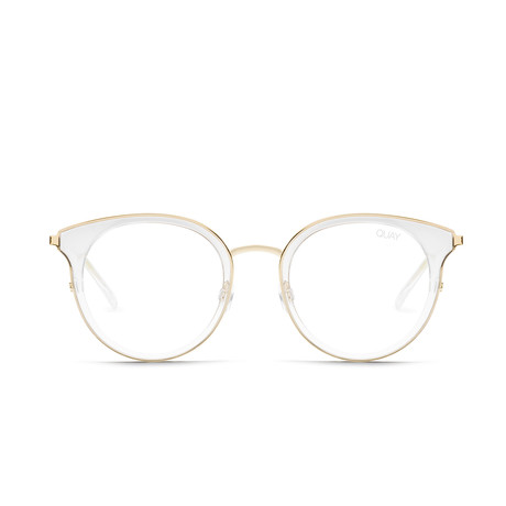 Women's Cryptic Blue-Light Blocking Glasses // Clear