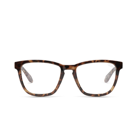 Unisex Hardwire Blue-Light Blocking Glasses // Tortoise + Clear