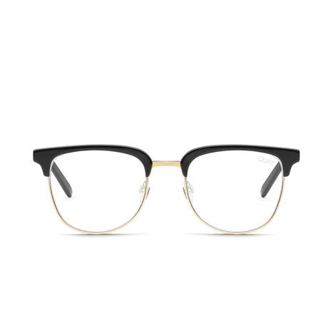 Unisex Evasive Blue-Light Blocking Glasses // Black