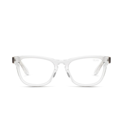 Unisex Hardwire Mini Blue-Light Blocking Glasses // Clear