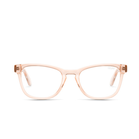 Unisex Hardwire Mini Blue-Light Blocking Glasses // Champagne