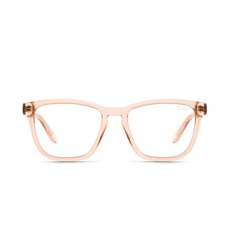 Unisex Hardwire Blue-Light Blocking Glasses // Pink