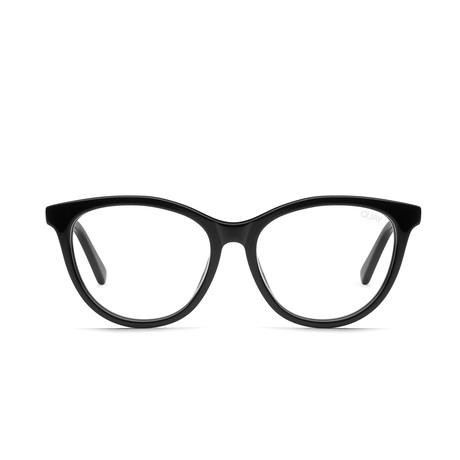 Women's All Nighter Blue-Light Blocking Glasses // Black