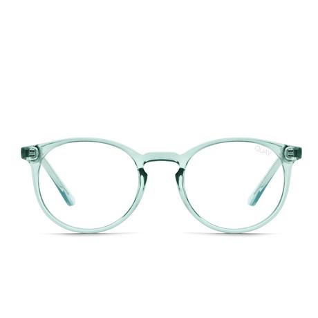 Unisex Day Job Blue-Light Blocking Glasses // Mint