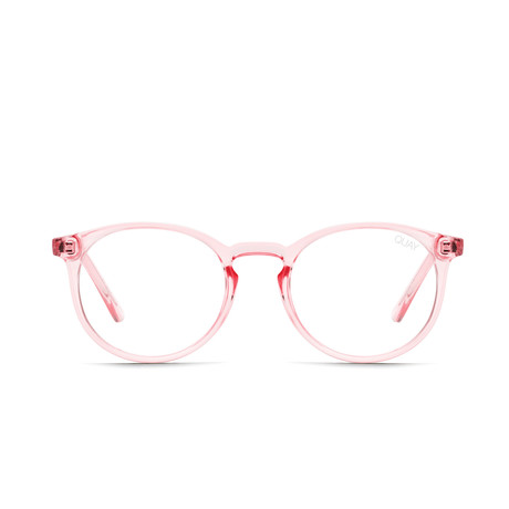 Unisex Day Job Blue-Light Blocking Glasses // Pink