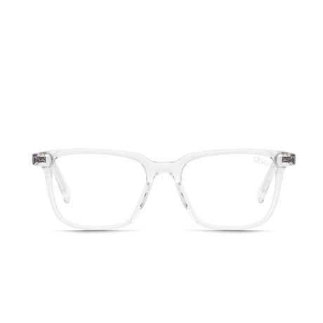 Unisex Algorithm Blue-Light Blocking Glasses // Clear
