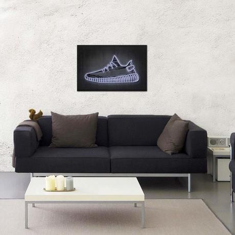 """Sneaker Y // Octavian Mielu (40""""W x 26""""H x 1.5""""D)"""