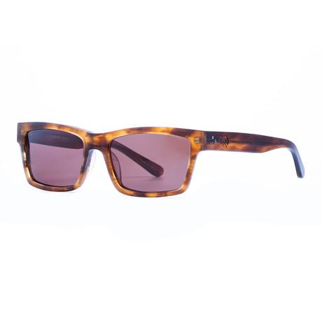 Filtrate Eyewear // Wasabi Sunglasses (Tortoiseoise + Bronze)