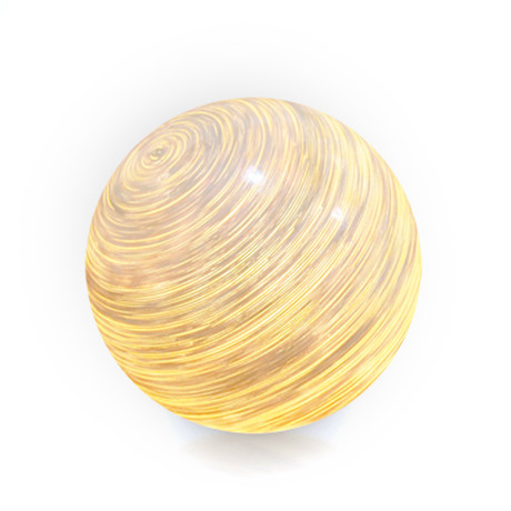 Igor Rattan Resin Ball Floor Lamp (Small)