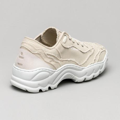 Landscape Canvas Sneakers V5 // Antique White (Euro: 40)