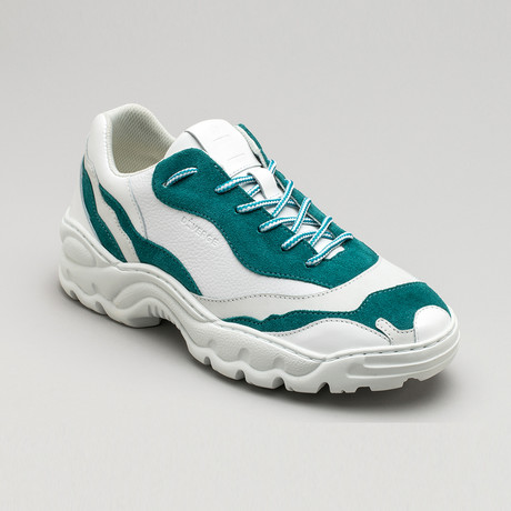 Landscape Sneakers V3 // Mix Emerald (Euro: 40)