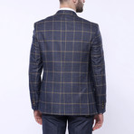 Hudson 3-Piece Slim Fit Suit // Navy (Euro: 56)