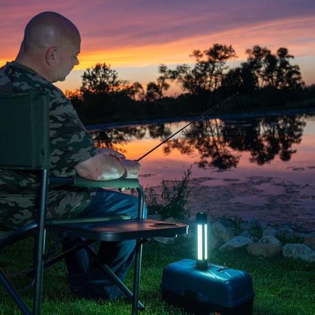 Kodiak Rechargeable Kuadrant™ 2000 Lumen COB LED Lantern
