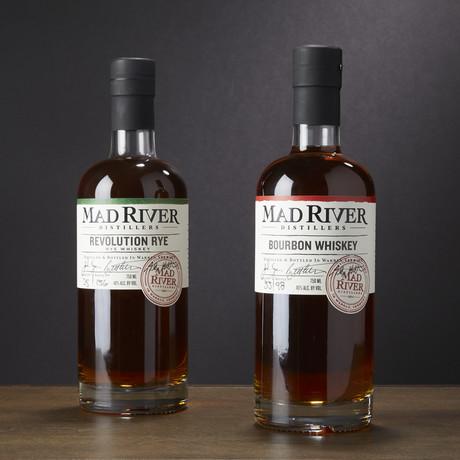 Mad River Distillery Rye + Bourbon Pack // Set of 2
