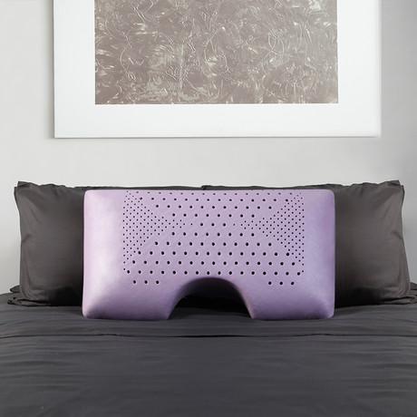 Moon Shoulder Lavender Pillow // Lavender (Queen)